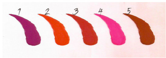 lipgloss 12h HM MAKEUP colori