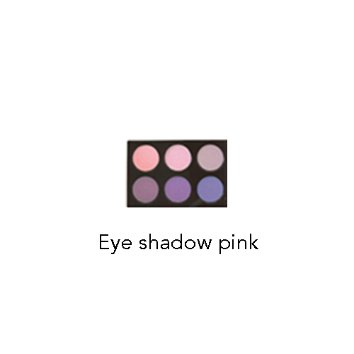 eye shadow pink HM MAKEUP